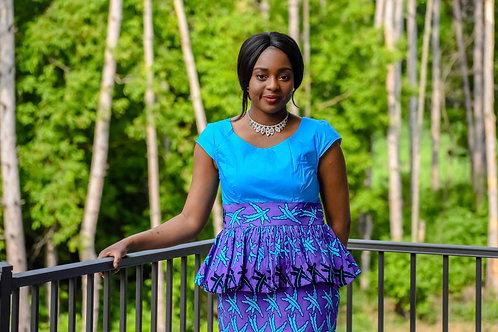 Purple Salina Dress