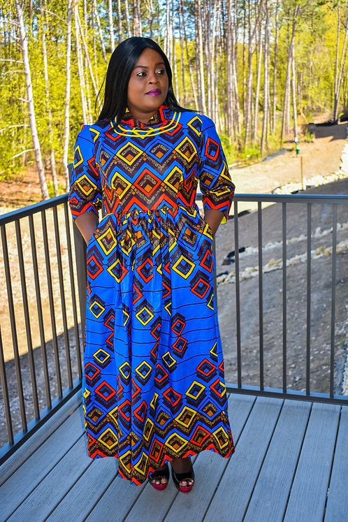 CHIOMA WOMEN MAXI DRESS