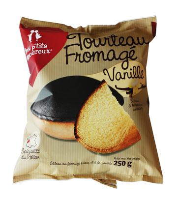 """Tourteau fromagé """"Véritable"""" au lait de vache à la vanille"""