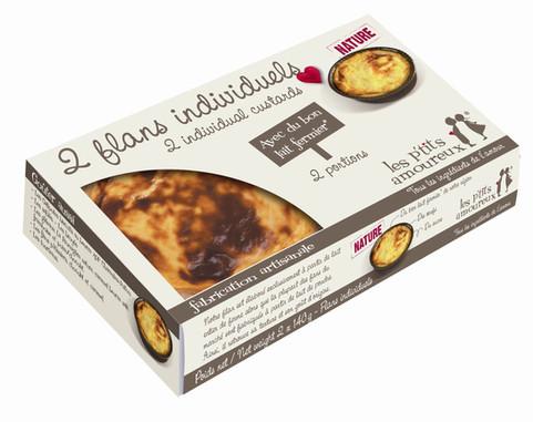 Les Minis Flans pâtissier (x2)