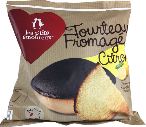 """Tourteau fromagé """"Véritable"""" au lait de vache au citron"""