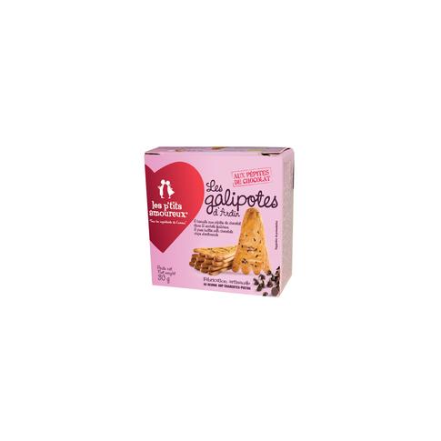 Minis Galipotes aux pépites de chocolat