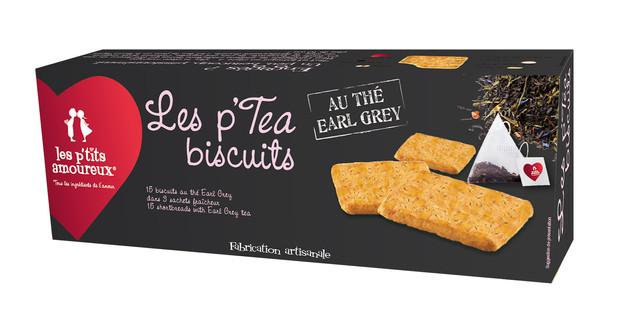 Les p'tea biscuits au thé Earl Grey