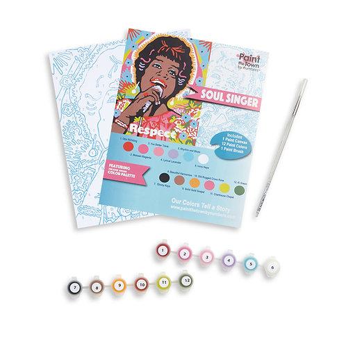 Soul Singer Paint by Numbers Kit