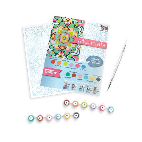 Mandala Paint by Numbers Kit