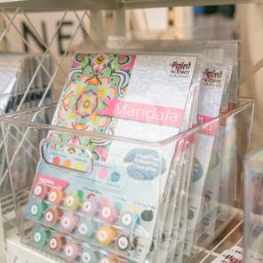 Mandala Kit in our Pop up Shop