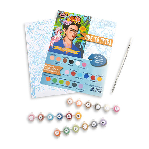 Ode to Frida Paint by Numbers Kit