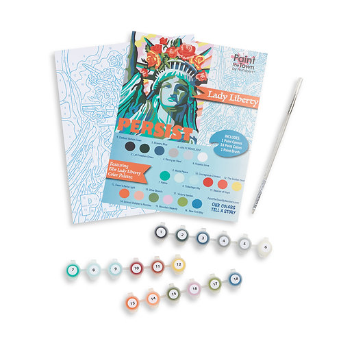Lady Liberty Paint by Numbers Kit