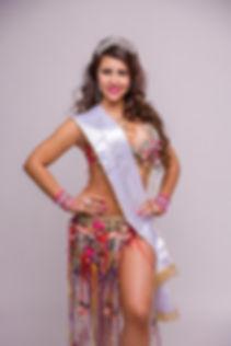 Daniela Acevedo Miss Belly Dancer Chile