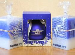 Подарочные свечи с логотипом