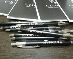 Ручки, блокноты