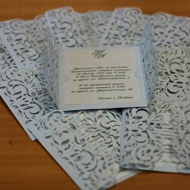 Приглашение на свадьбу 💍 _#студиясок #с