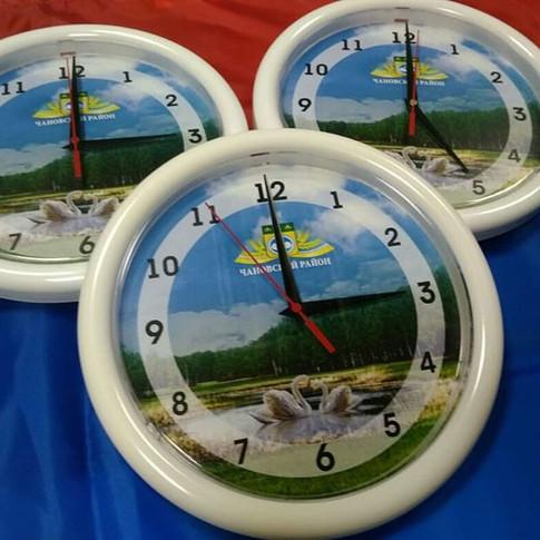 Часы с логотипом _#студиясок #станцияпеч
