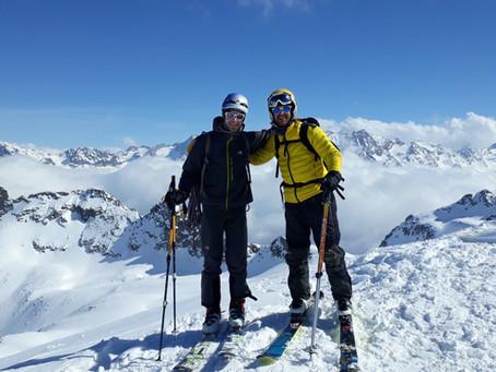 Skitour der besonderen Art