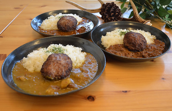 ジビエハンバーグ・カレーセット(6食)