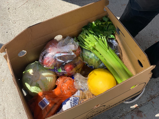 July Sun Valley Food Pantry