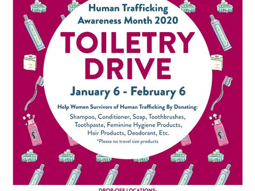 Toiletry Drive 2020