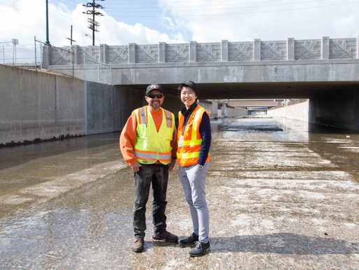 LAUREL CANYON BRIDGE IN SUN VALLEY WIDENED AND IMPROVED