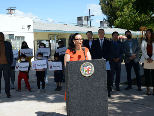 LA Launches OpportunityLA, Providing Over 13,000 First Graders with Pre-Funded Bank Accounts