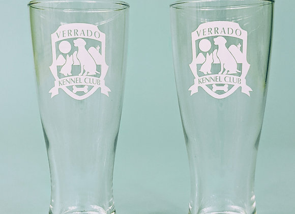 Verrado Kennel Club Beer Glass