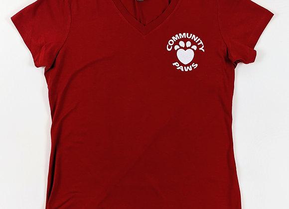 Retro Logo Ladies V-Neck