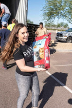 Community Paws & Chewy Food Distribution