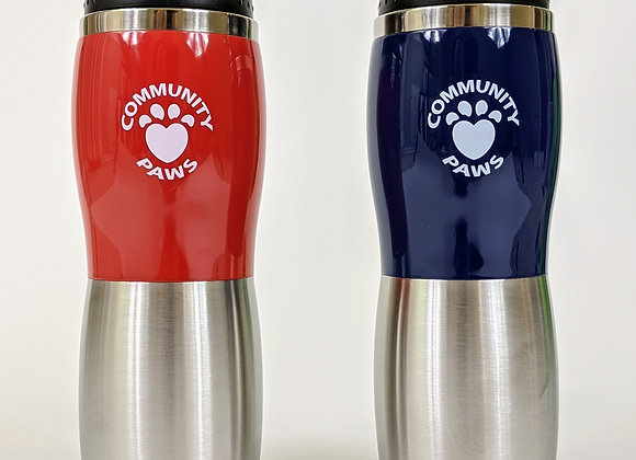 Community Paws Coffee Thermos