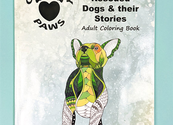 Coloring Book of Community Paws Rescues