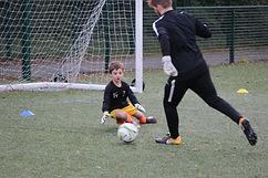 Goalkeeper 1v1 training
