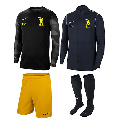 Youth Goalkeeper Kit Package