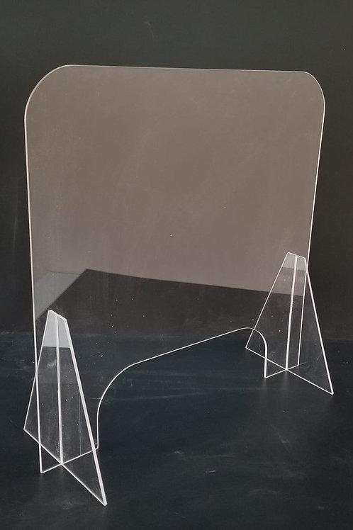Shields for desk o manicure