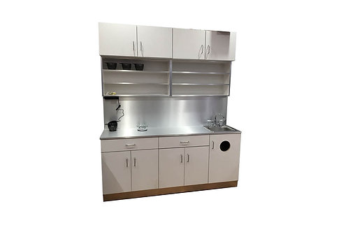 Color Cabinet with sink
