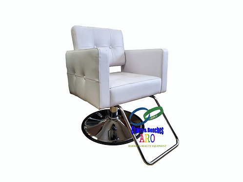 WHITE  STYLING CHAIR 2510