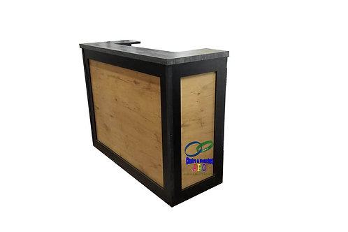 Square DeskNatural Wood