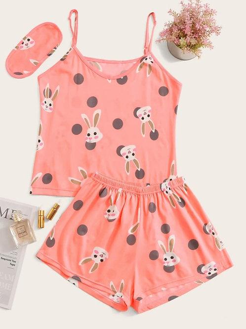 Bunny Pajama Set