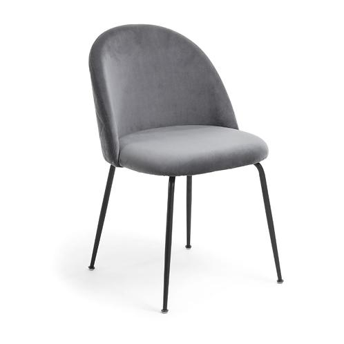 Cadeira MYSTERE Veludo Cinza