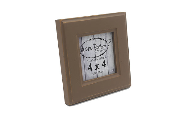 4x4 Moab picture frame - Mocha