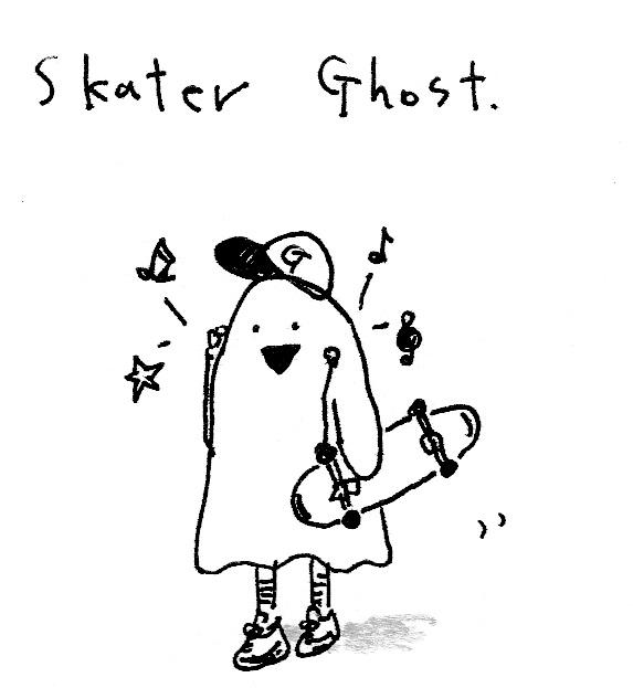 スケーターゴースト(シール2)
