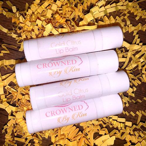 Gold citrus 🍊 Lip Balm