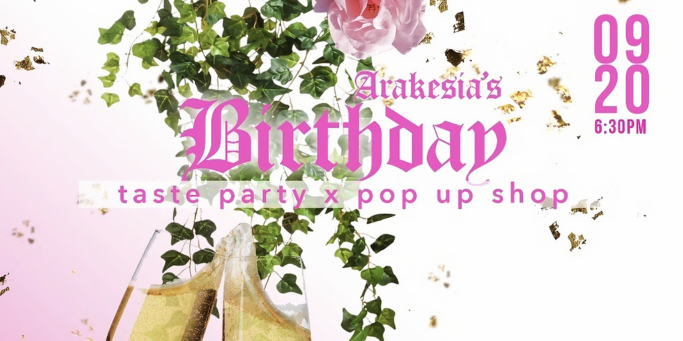 Vegan Taste Party/Pop Up Shop