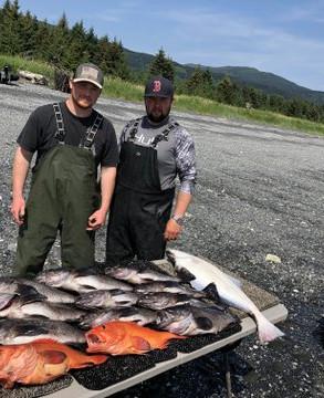 Summer fishing at the Lodge Jim's phone