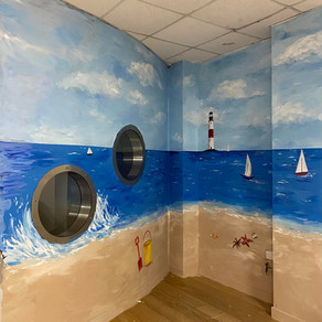 Mural for Lothian Autistic Society