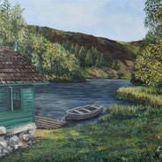 Loch Eddy Boathouse