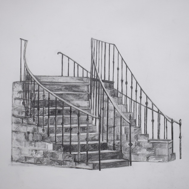 Staircase Drawing 5