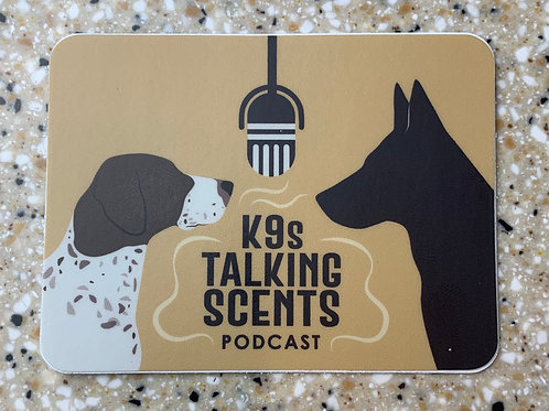 K9s Talking Scents (Decal)