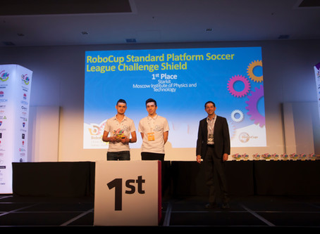 1st Place in RoboCup 2019 in SPL Challenge Shield