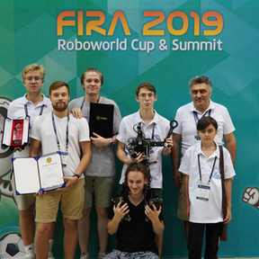 3 Место на FIRA 2019 в Спринте и Беге с Препятствиями