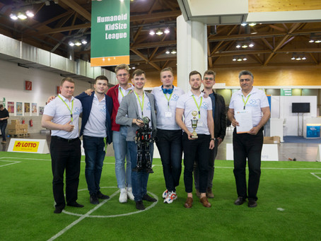 1st Place in RoboCup Russia Open 2019 and 3rd in RoboCup German Open 2019 in Humanoid KidSize