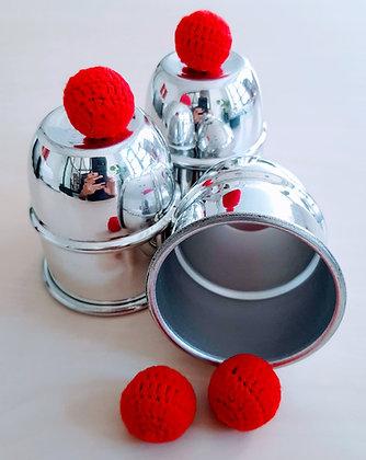 Cups and Balls - Aluminum