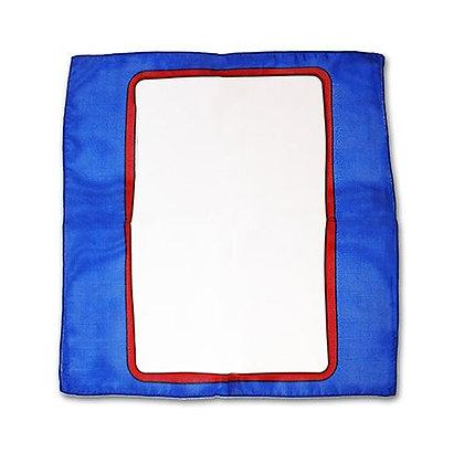 Sitta Card Silk - Bleu - 30 cm -Carte Blanche